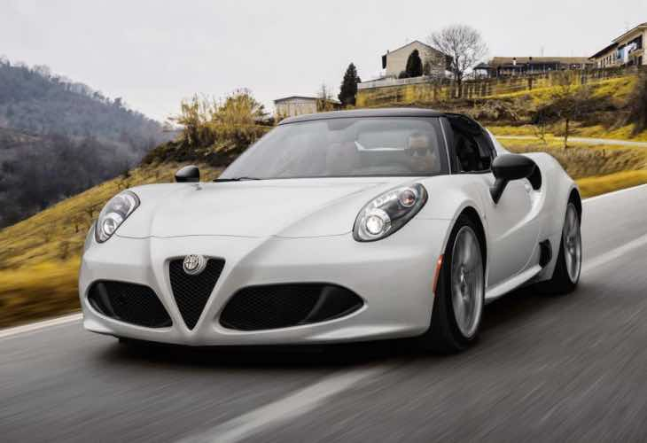 alfa romeo 4c spider price revealed with pre order product reviews net. Black Bedroom Furniture Sets. Home Design Ideas