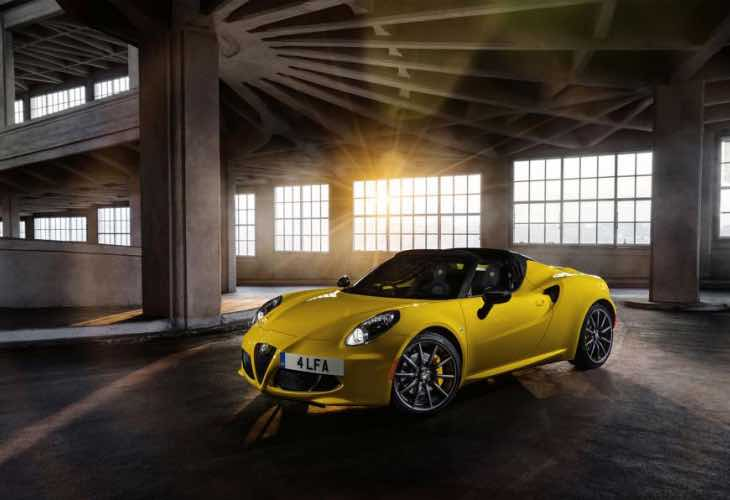 Alfa Romeo 4C Spider price revealed