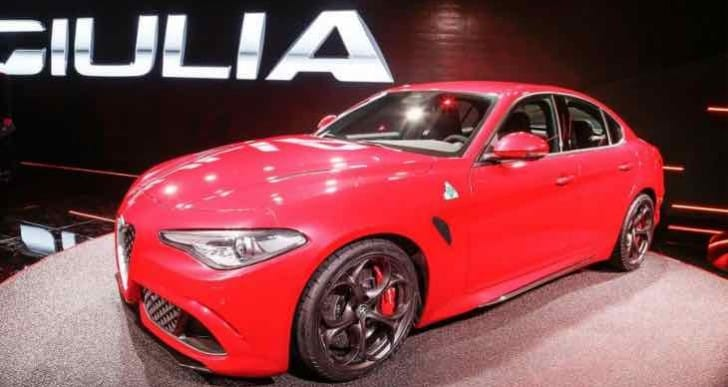 Alfa Romeo Giulia 2016 engine lineup excitement