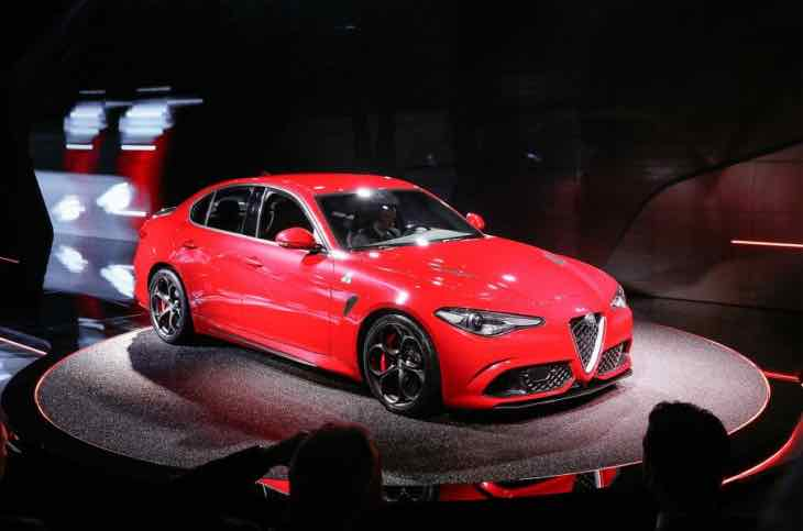 Alfa Romeo Giulia 2015 engine