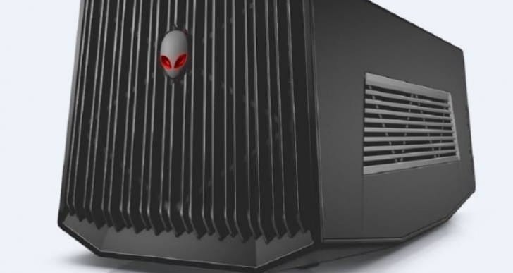 Alienware Graphics Amplifier, substantial laptop gaming performance