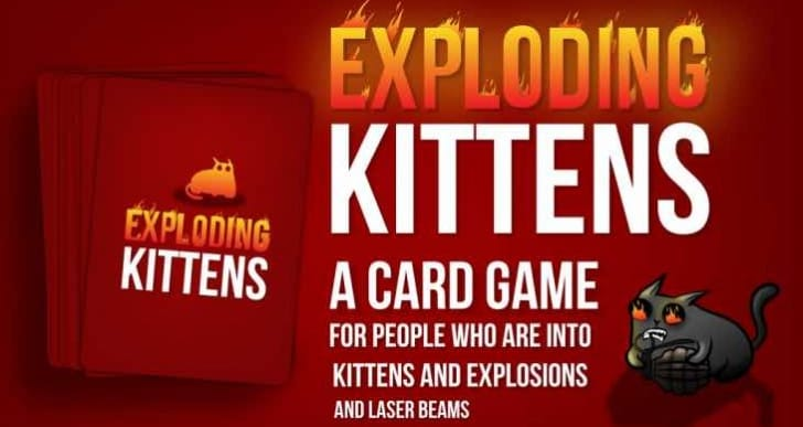 All Exploding Kittens versions shipping July and August