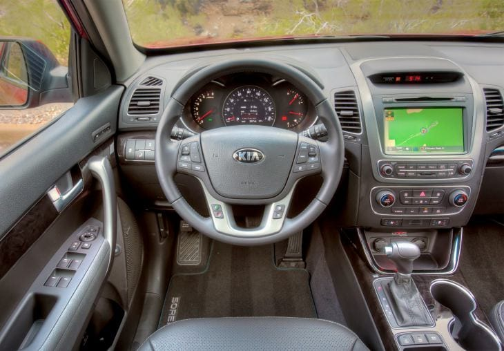 All-new 2014 KIA Sorento interior