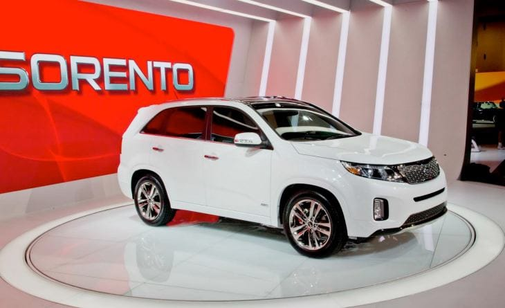 All-new 2014 KIA Sorento technology detailed