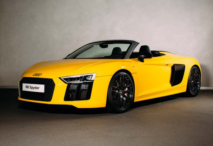 All-new Audi R8 Spyder UK deliveries