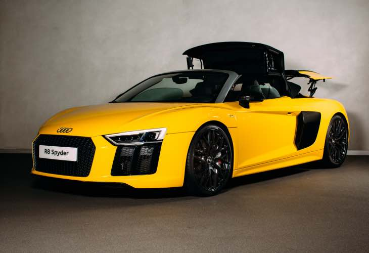 All-new Audi R8 Spyder UK price