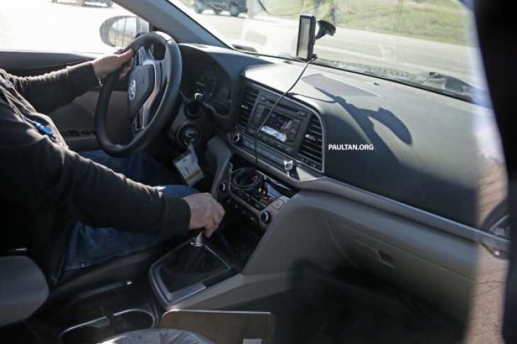 All-new Hyundai Elantra interior