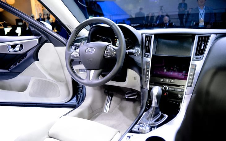 All-new Infiniti Q50 interior