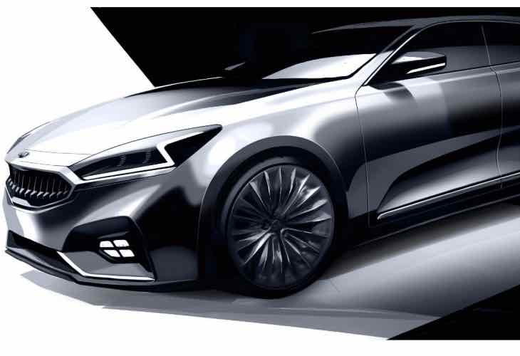 All-new Kia Cadenza design
