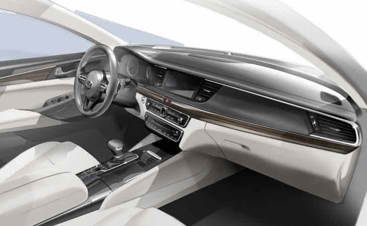 All-new Kia Cadenza interior