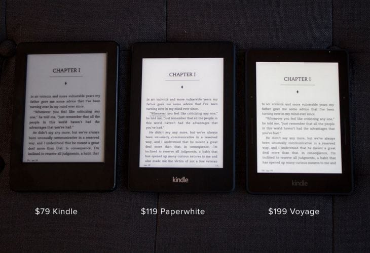 All-new Kindle with touch