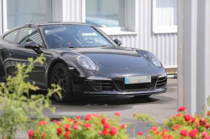 All-new Porsche 911 GT