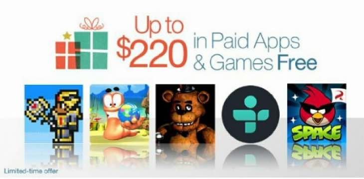 Amazon Appstore Christmas sale