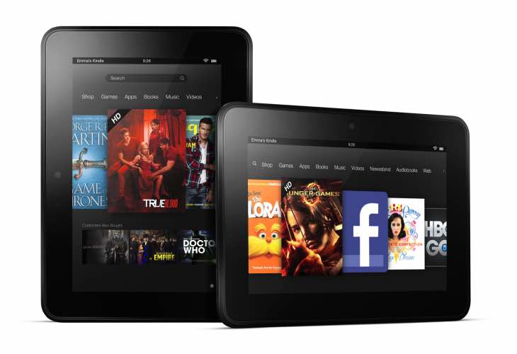 Amazon Fire HD update
