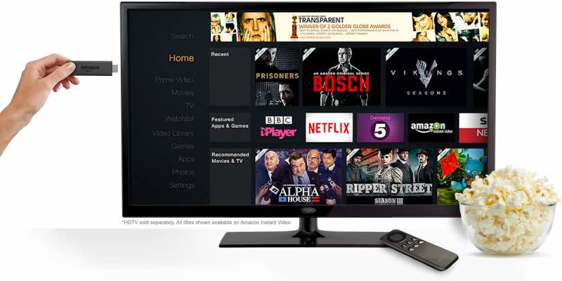 Amazon Fire TV Stick UK pre-order
