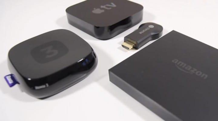 Amazon Fire TV vs. Apple TV, Chromecast and Roku 3
