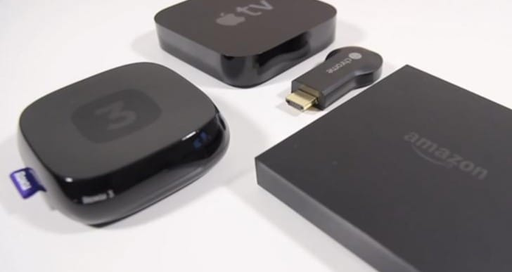 Amazon Fire TV vs. Apple TV, Chromecast and Roku 3