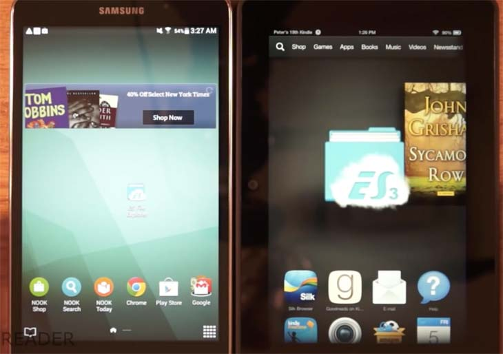 Amazon-Kindle-Fire-HDX-7-Vs-Galaxy-Tab-4-review