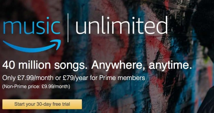 Amazon Music UK Unlimited family plan costs £15 a month or £149