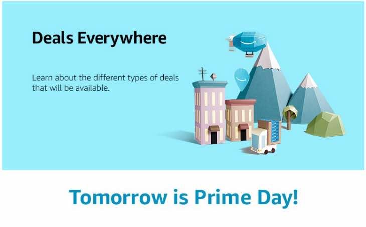 Amazon prime Day countdown