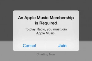 An Apple Music Membership is required to play Radio