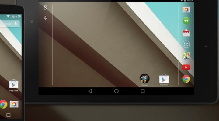 Android L, 4.5 / 5 release window and dev on Nexus 7 previews
