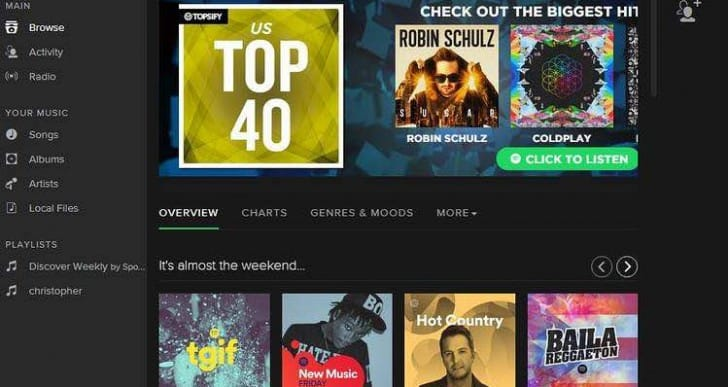 Android Spotify Video Streaming launch date in days