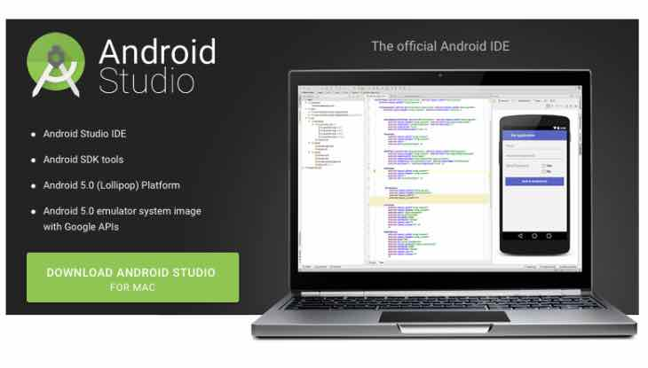 Android Studio download for Mac supports El Capitan