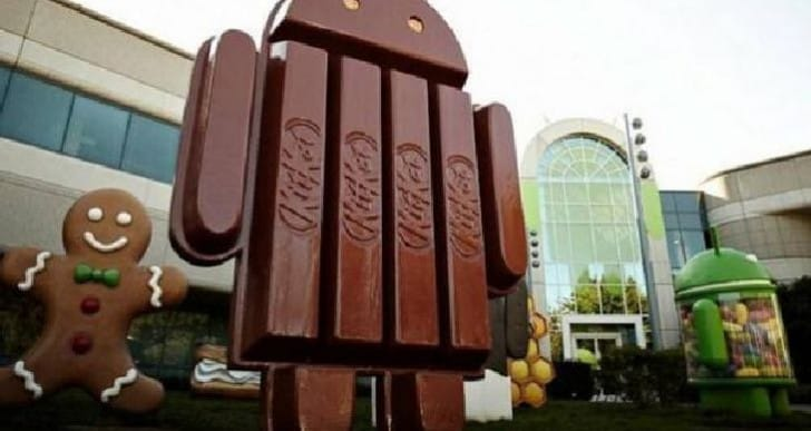 Android KitKat 4.4 now features over one percent adoption