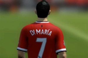 Angel Di Maria Man Utd tribute uses FIFA 14 mod
