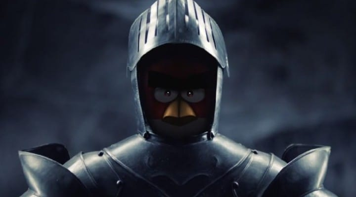 New Angry Birds with medieval theme