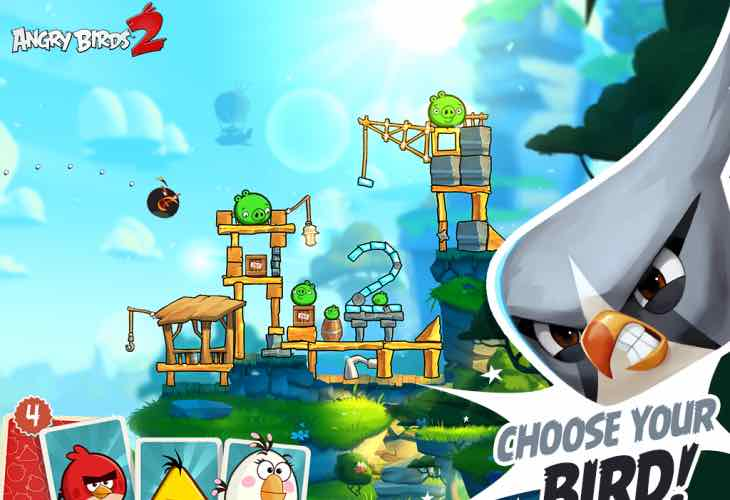Angry Birds 2 August update needed for bugs