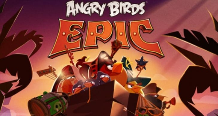 Angry Birds Epic gameplay trailer highlights turn-based RPG