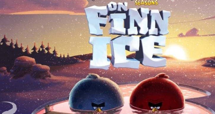 Angry Birds Seasons Christmas update with 25 new levels