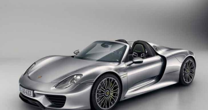 Another Porsche 918 Spyder recall, not for hybrid system