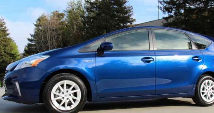 Another Toyota recall, Prius V requires software update