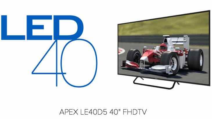 Apex LE40D5 TV price