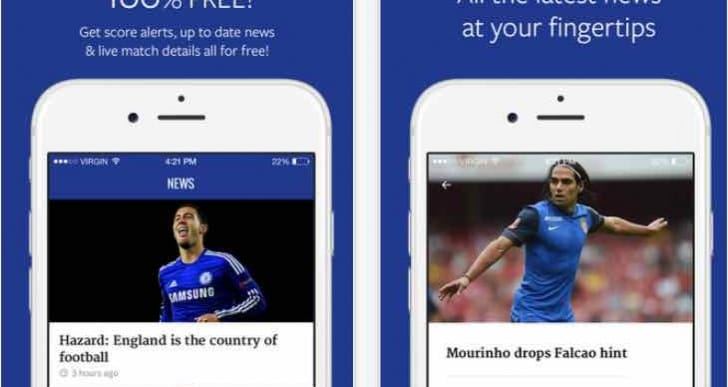 App update for Chelsea transfer news, includes Pedro latest