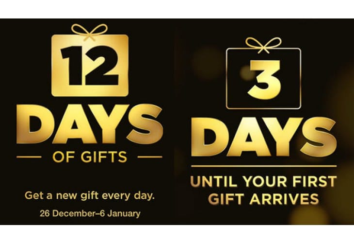 Apple 12 days of Christmas app expanded for 2013