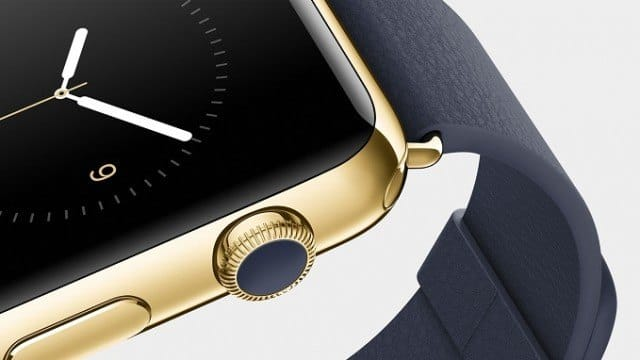 Apple 18k gold Watch