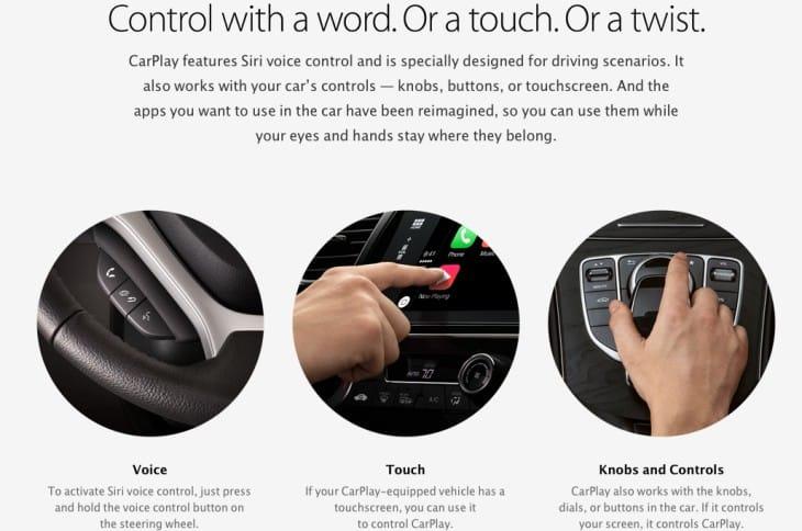 Apple CarPlay cars