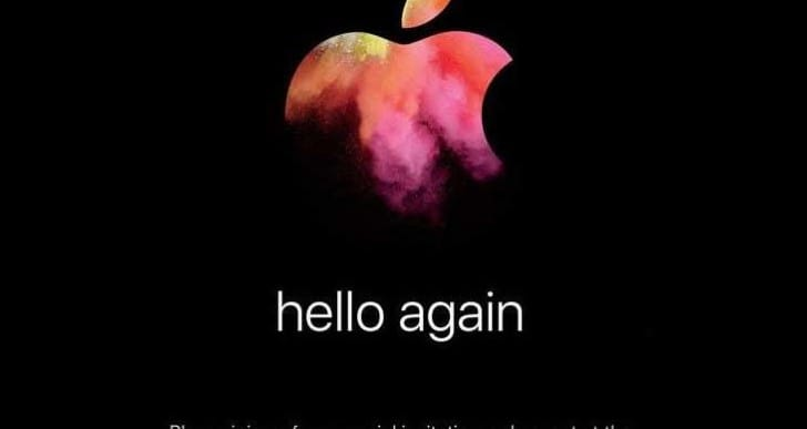 Apple 'Hello Again' event October 27, 2016 worldwide start times