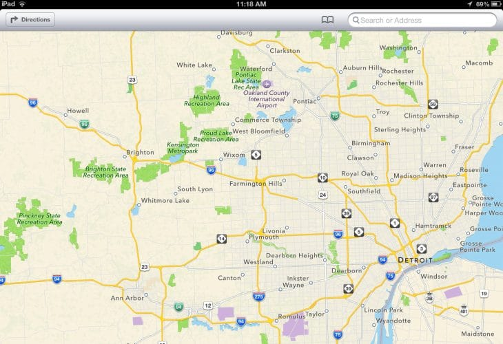 Apple Maps changes how it updates