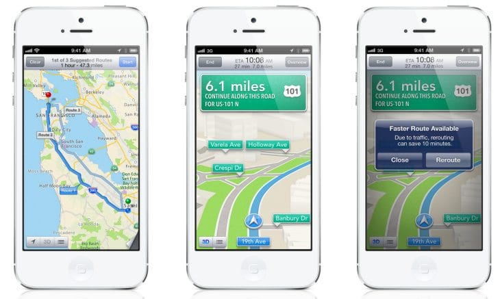 Apple Maps changes