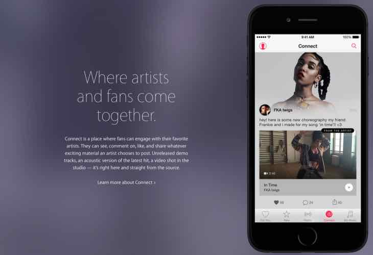 Apple Music features