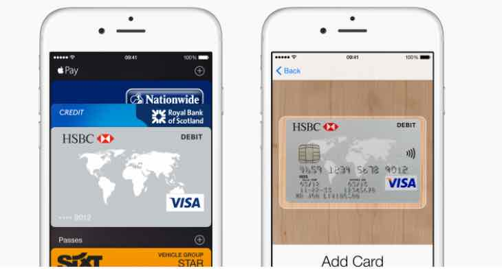 Apple Pay UK HSBC support