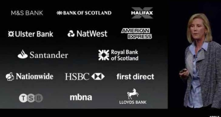 Apple Pay UK bank and retailer support list, Barclays absent