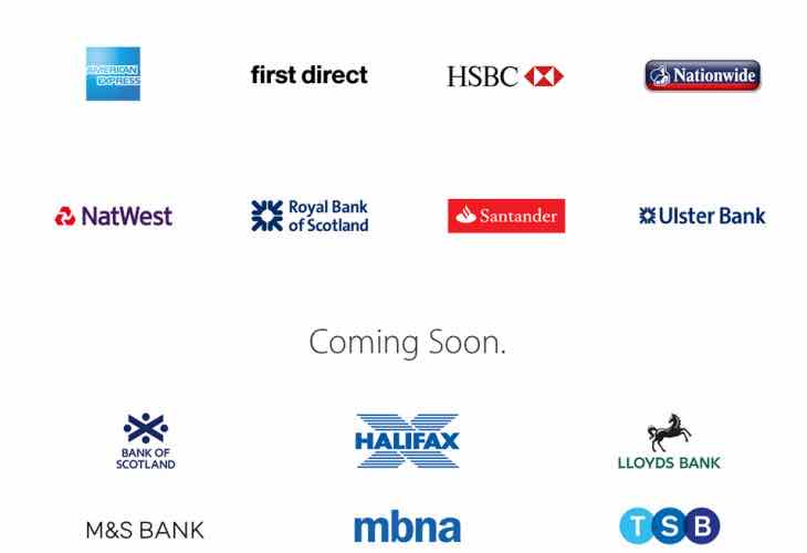 Apple Pay UK banks