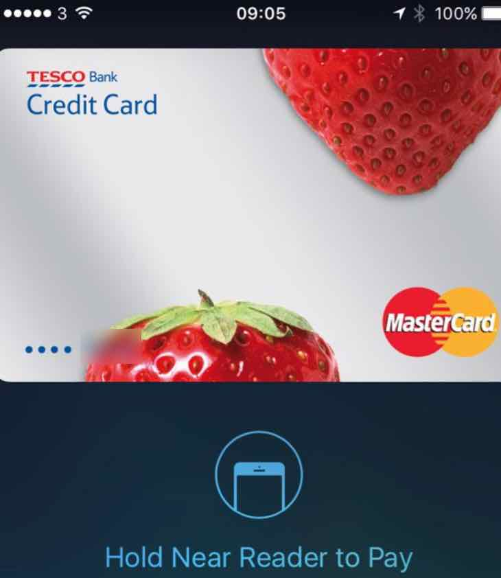 Apple Pay for Tesco Bank