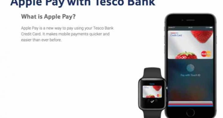 Apple Pay update: Tesco Bank and TSB support